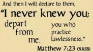 Tentang Matius 7:21-23
