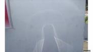 Heboh! Penampakan Sketsa Mirip Yesus di Dinding Puskemas Remboken Menjadi Viral