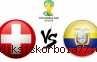 Piala Dunia 2014 : Prediksi Pertandingan Swiss vs Ekuador