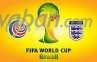 Piala Dunia 2014: Prediksi Pertandingan Kosta Rika vs Inggris
