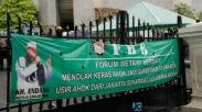 Berita Foto: Demo Ahok 24 Oktober 2014