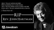 Teladan Hidup, Rev. John Hartman Hembuskan Nafas Terakhir di Indonesia