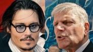 Tidak Bercanda, Putra Billy Graham Doakan Johnny Depp Bisa Bertobat Suatu Hari Nanti