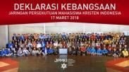 Disaksikan Pdt Nus Reimas, Inilah 4 Butir Isi Deklarasi 300 Mahasiswa Kristen Se-Indonesia