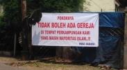 Warga Jagakarsa Jaksel Tolak Pendirian Gereja Kristen Indonesia, Ini Alasan Mereka!