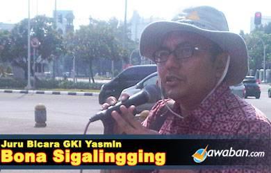 Bona Sigalingging : Kami Terpaksa Ibadah di Seberang Istana Merdeka