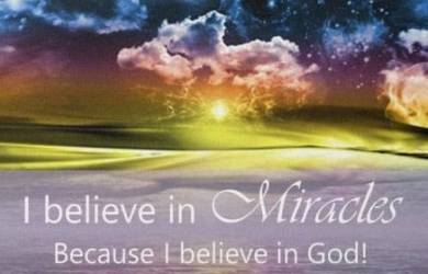 God's Miracle Happens All the Time