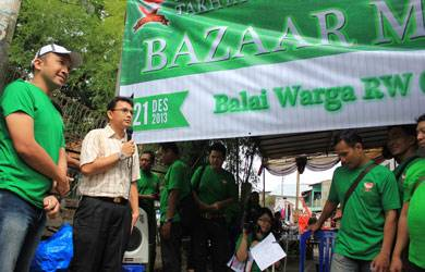 Perkumpulan Pelayanan Takhta Yesus Gelar Bazaar Murah Di Jakarta