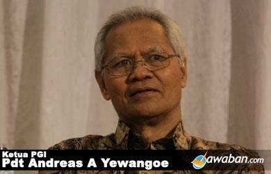 Dua Pesan Khusus Ketua PGI Jika Jokowi Jadi Presiden