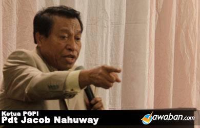 Jacob Nahuway: Pendeta Tak Boleh Nyaleg
