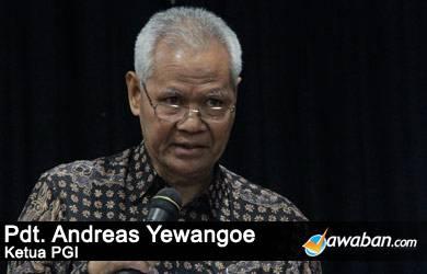 Pdt. AA Yewangoe: Tugas Menteri Agama Urus Relasi Lintas Iman