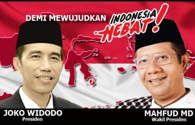 Pasangan Jokowi dan Mahfud MD Telah Dideklarasikan