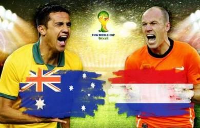 Piala Dunia 2014: Prediksi Pertandingan Australia vs Belanda