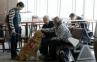 Terapi Anjing Bantu Para Penumpang di Bandara