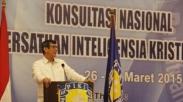 Menkumham Buka Kongres Persatuan Inteligensia Kristen Indonesia
