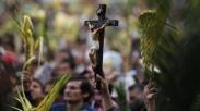 Umat Kristiani Dunia Rayakan Minggu Palma