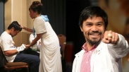 Pacquiao: Tangan Tuhan Bekerja Sembuhkan Saya