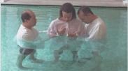 David Luiz Jalani Prosesi Baptis Selam