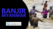 PBB : Jumlah Korban Banjir Myanmar Akan Meningkat