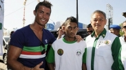 Cristiano Ronaldo Reuni Dengan Anak Korban Tsunami Aceh