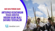 Antisipasi Kedatangan Kristus, Ribuan Kaum Injili Datangi Yerusalem