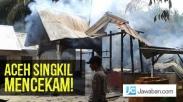 Umat Muslim dan Kristen di Subulussalam Aceh Jaga Empat Gereja