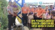 BPK Penabur Jakarta Bangun Jembatan Air untuk Warga di Cisarua