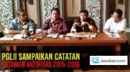 PGLII Sampaikan Catatan Setahun Aktifitas 2015-2016