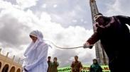 Miris, Aceh Hukum Cambuk Wanita Kristen Ini