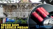 Teror Bom di Gereja Katolik Medan, PGI Minta Umat Tidak Terpancing