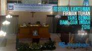 Keren, Festival Membaca Alkitab di Indonesia Dipertandingkan
