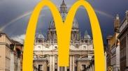 Para Kardinal Tolak Pendirian McDonald's di Vatikan, Ini Sebabnya
