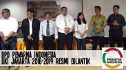 DPD Pewarna Indonesia DKI Jakarta 2016-2019 Resmi Dilantik