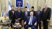 Wah, Salah Satu Petinggi MUI Temui Presiden Israel. Ada Apa?