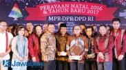 Hadiri Natal DPR, Panglima TNI Kutip Ayat Alkitab