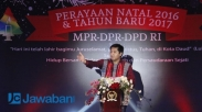 Perayaan Natal MPR DPR DPD RI, Persatukan Seluruh Umat Beragama