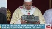 Tulang Belulang yang Diyakini adalah Rasul Petrus Ditemukan dibawah Gereja di Italia