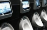 Toilet Pria ini Pakai Sistim Video Game di Inggris