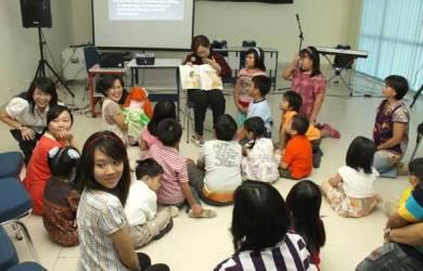Kegiatan Kreatif dalam Sekolah Minggu
