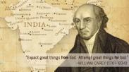 Mengenal William Carey, Bapak Gerakan Misionaris Moderen dan Karyanya Untuk Kekristenan