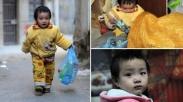 Miris Sekali, Bayi Ini Harus Bekerja Mengumpulkan Sampah Untuk Obati Jantungnya