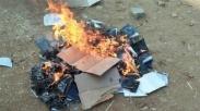 Ngeri banget, Puluhan Alkitab Dibakar Di India Ini. Motifnya Apa ya?