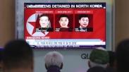 Setelah 3 Tahun Jadi Tahanan Korea Utara, Trump Sambut 3 Penginjil Ini Kembali Ke Amerika