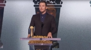 Gila! Aktor Jurassic Park Chris Pratt Khotbah Di Mimbar Penghargaan MTV Award