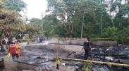 Rugi Ratusan Juta, Gereja Dan Rumah Dinas Pendeta Ini Ludes Terbakar