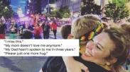 Komunitas Kristen Ini Beri 'Free Hugs' Dalam Sebuah Parade LGBTQ, Ini Alasannya!