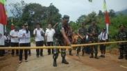 Masih Berlangsung, TNI Plesiran Perbaiki Gereja Untuk Membangun Desa Di Pelosok
