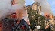 Sedih! Si Jago Merah Melahap Gereja Berusia 856 Tahun Di Paris