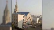 Perang Iman Percaya, Pemerintah Tiongkok Merobohkan Tempat Ibadah Orang Kristen