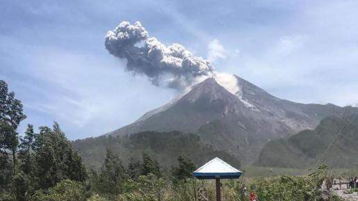 Gunung Merapi Erupsi, Status: Waspada Level II